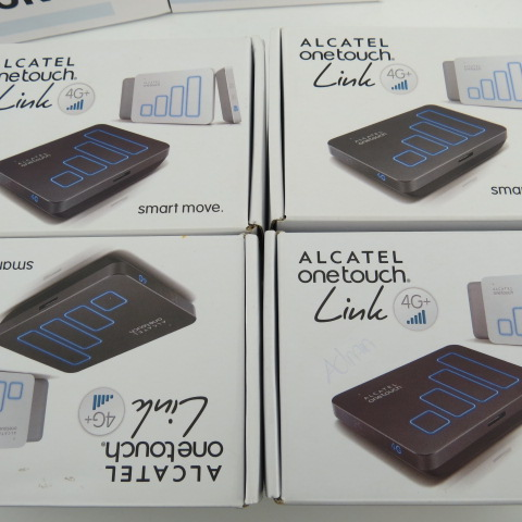 Alcatel Y900 LTE-A 300MBps 4G 3G 2G WifI UNLOCKED mobile router, hotspot 3560mah alcatel y900 lte a 300mbps 4g 3g 2g wifi unlocked mobile router hotspot 3560mah