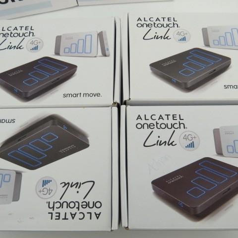 Alcatel y900 lte-a 300 mbps 4g 3g 2g wifi router móvil abierto, hotspot 3560 mah