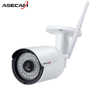 Wireless HD 720P 960P P2P Aluminum Alloy Waterproof ONVIF Mini Wifi Camera 36 IR Outdoor CCTV