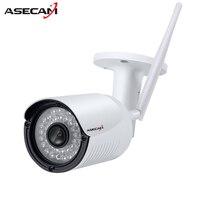 Wireless HD 720P 960P P2P Aluminum Alloy Waterproof ONVIF Mini Wifi Camera 36 IR Outdoor CCTV