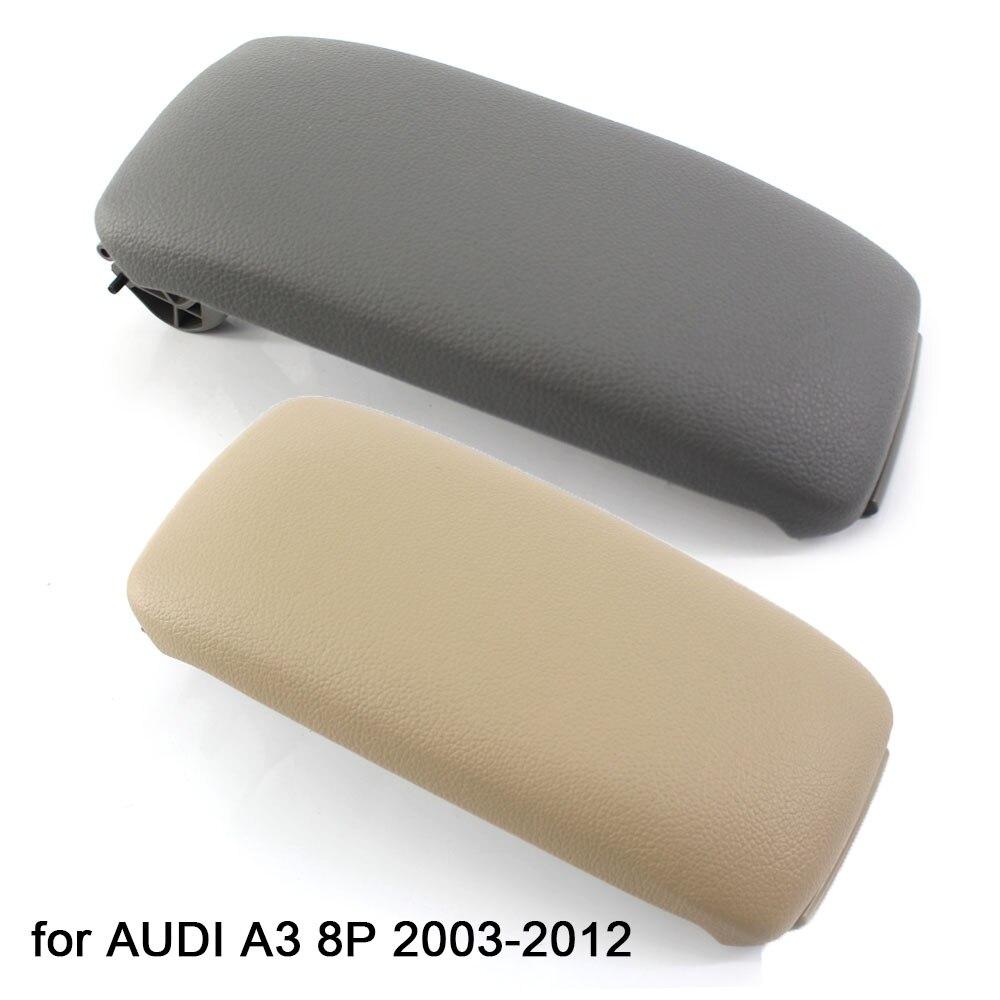 Fit for Audi A3 8P 2003-2012 Beige Leather Armrest Center Console Lid 8P0864245P