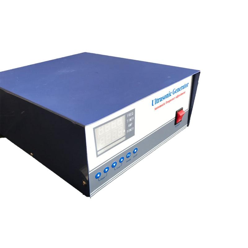 40khz/80khz 300W dual frequency ultrasonic generator, dual frequency ultrasonic wave generator 1000w 40khz 80khz dual frequency immersible ultrasonic transducer dual frequency submersible ultrasonic transducer