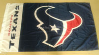 Houston Texans Wordmark Flag  150X90CM Banner 100D Polyester 3x5 FTflag brass grommets 001, free shipping