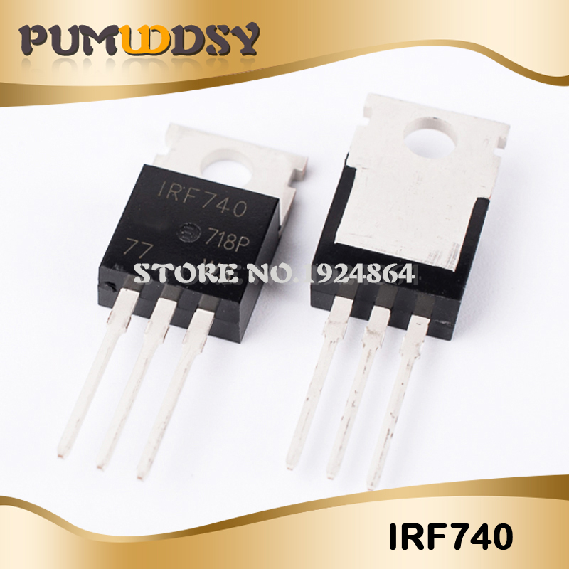 50 x New IRF510N IRF510 Power MOSFET TO-220 IR NEW