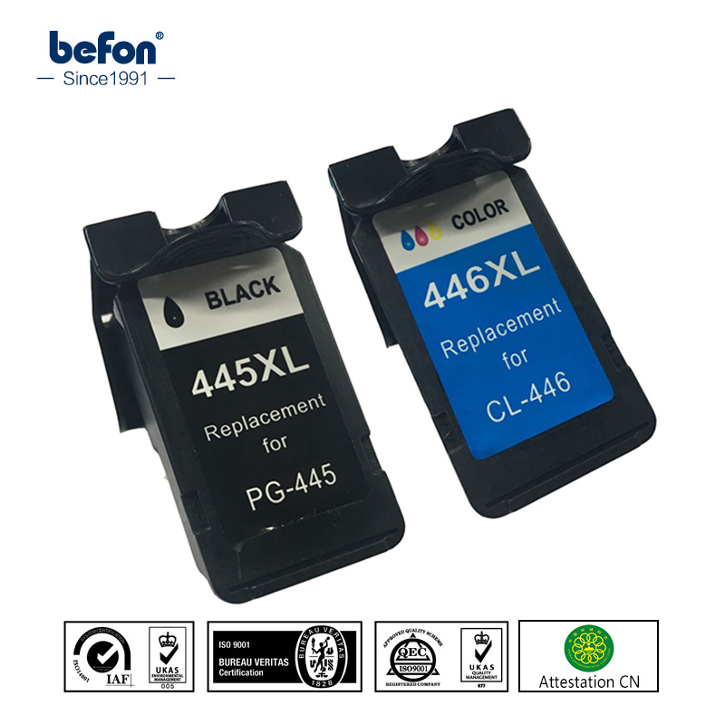 For Canon PG445 CL446 445 446 Ink Cartridge set Compatible for Canon ip2840 2840 MG2440 2440 MG2540 2940 mx494 494 Printer
