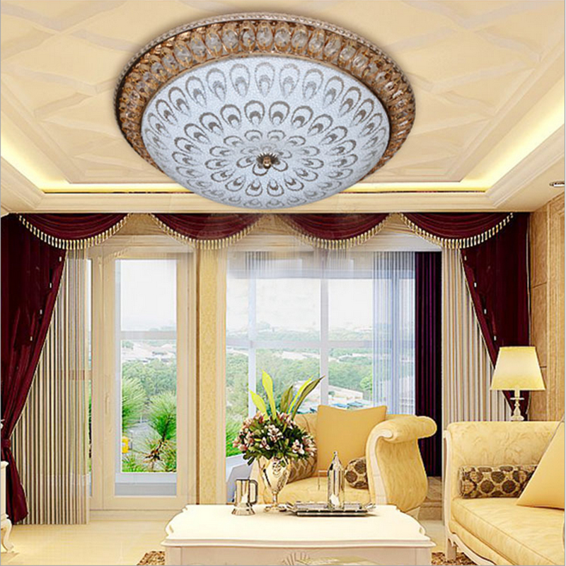 High Quality Creative Peacock LED Ceiling Lamp Adjustable ...