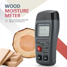 Digital LCD Wood Moisture Meter Wood Humidity Tester Timber Damp Detector Woodworking Measuring Tools hygrometer higrometro kt 505 digital wood moisture meter redwood timber moisture meter humity meter range 0 100%