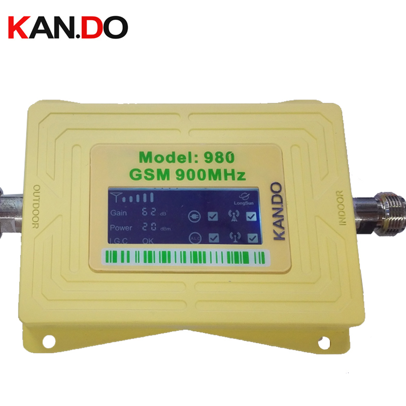 New 2017 GSM 980 20dbm Gain 62dbi LCD Display Phone Booster Repeater GSM Repeater Booster,GSM Signal Booster Gsm Booster