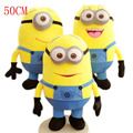 2017 Big Size 50CM Minions Plush Toys Movie Baby Kids 20Inch Minion Toys & Hobbies Despicable Me Christmas Birthday Gift 2005