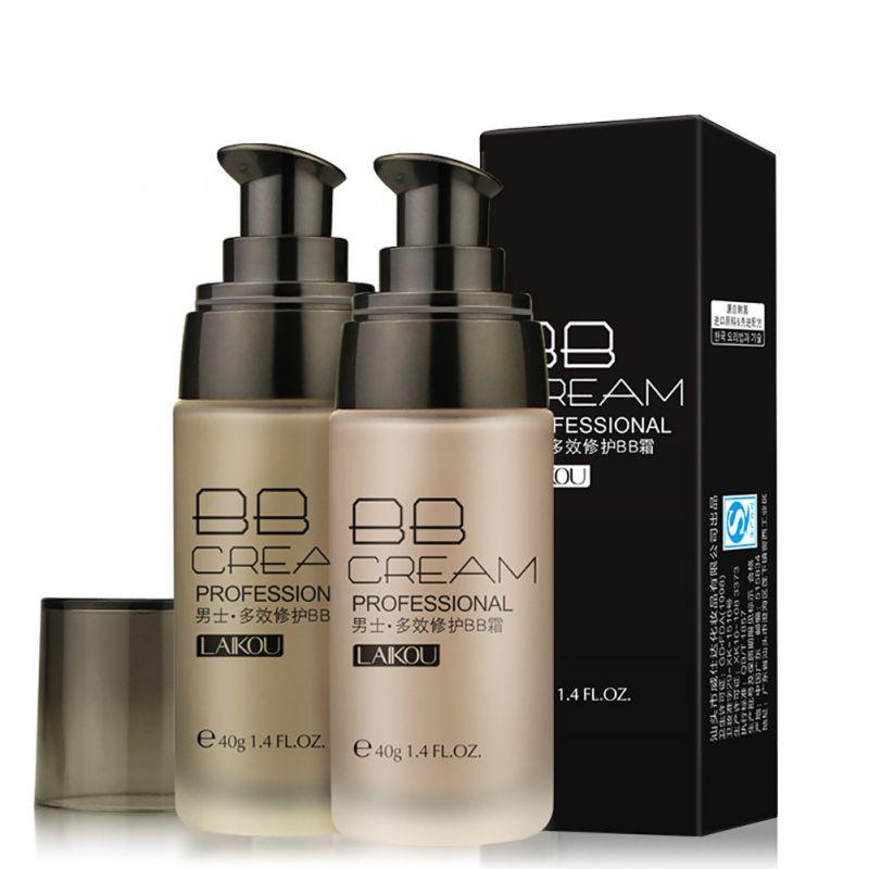 Men BB Cream Whitening Moisturizing Skin Care Makeup Liquid Foundation Concealer 2