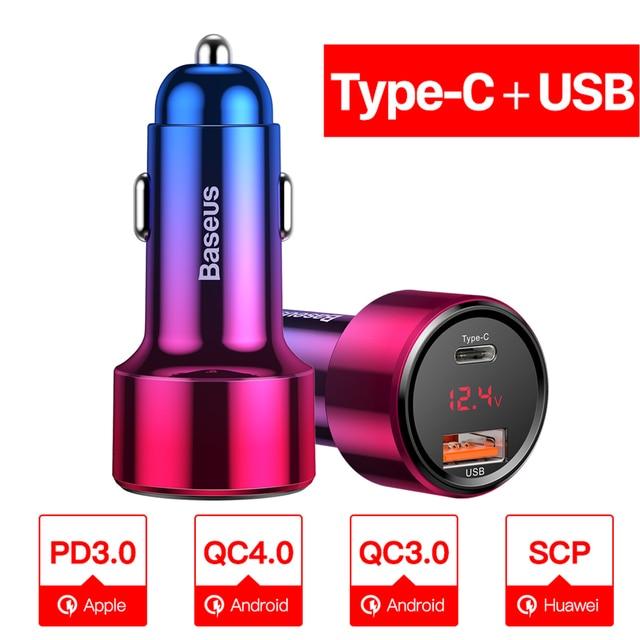 Type C USB Red