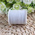 Белая эластичная нить для одежды и ткани, промышленная эластичная швейная нить «сделай сам», катушка 200 метров/рулон