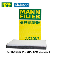 MannfilterカーキャビンフィルターCU2856/2用ビュイック(上海gm)ラクロスi 2.4l/3.0l自動車部