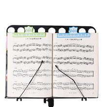 Portable Musical Note Page Clip Clamp Scale Pattern Music Folder Clips Bookmark Page Sheet Holder Plastic Clamp tous kids edt 100 мл for boys tous page 13 page 14 page 9 page 16