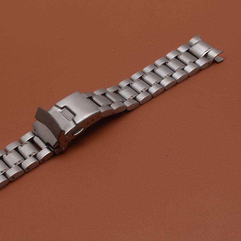 18mm 20mm 22mm 24mm szilárd rozsdamentes acél összekötő - Óra kiegészítők - Fénykép 5