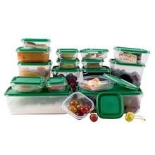 17 шт./компл. сохранение свежести продуктов ящик для хранения холодильник Еда контейнер герметичный контейнер Кухня Органайзер зерна контейнер для хранения фасоли Jar танк