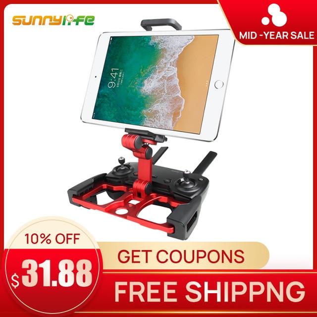Sunnylife DJI Mavic Pro 2 chispa titular wStrap soporte Base para mavic de la calidad del aire inteligente ipad tablet samsung s8