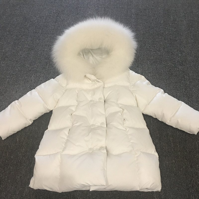 2017 winter down long  jacket  for girls boys coats , 90% down jackets children's clothing for snow wear kids outerwear & coats 2017 winter down jackets for boys