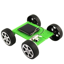 DIY Assemble  Kids Baby Solar Car Toy Solar Vehicle Mini Solar Energy Powdered Toy Racer Child Kid Solar Car Education Toy