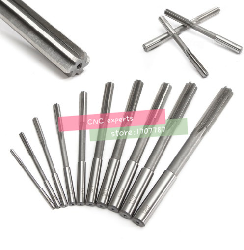 10pcs HSS H7 Straight Shank Milling Reamers Set Mayitr Precision Chucking Machine <font><b>Cutter</b></font> Tool 3/4/5/6/7/<font><b>8</b></font>/9/10/11/12 <font><b>mm</b></font> image