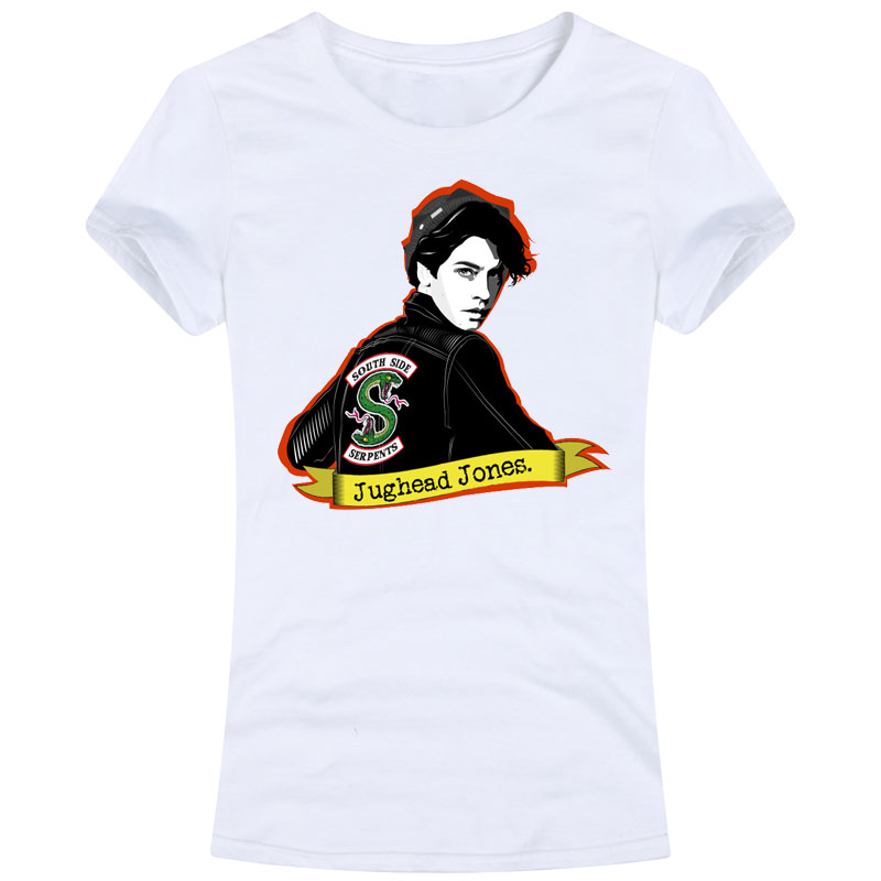 3a64d1758ccc8 US $8.99  riverdale Women Female Tees T Shirt Tv Series Jughead Jones south  side serpents betty veronica archie jughead comic cheryl love-in T-Shirts  ...