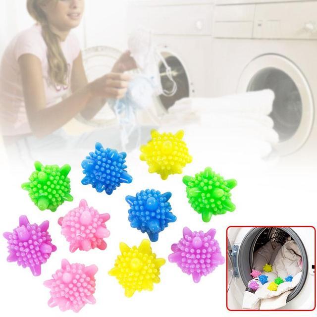 Máquina de Secar roupa máquina de Lavar Roupa * Bolas Amaciante Químico Nenhum Amaciante Eco Bola