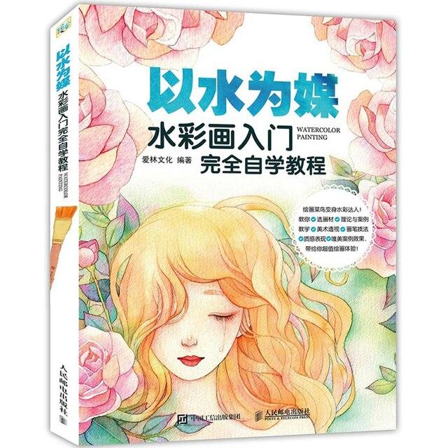 Aquarelle Peinture Dessin Livre Aquarelle Cours De Base Livre