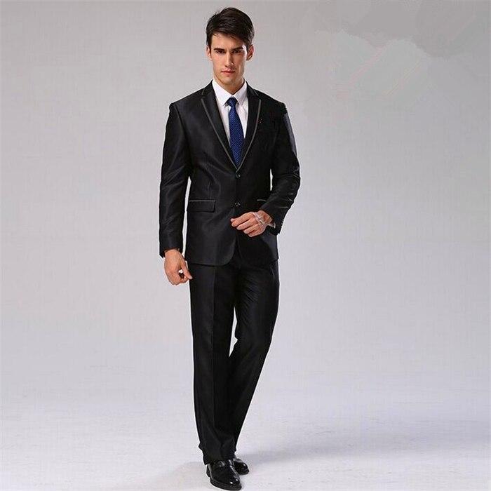 Пиджак+ брюки+ галстук+ платок) Мужской костюм Блейзер хлопковый брендовый Дизайнерский Костюм для работы, свадьбы строгие блейзеры CBJ-F1316