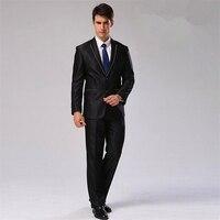 (Jacket+Pants+Tie+Bow tie+Handkerchief ) Men Suit Blazer Cotton Brand Design Suit Business Wedding Formal Blazer CBJ F1316