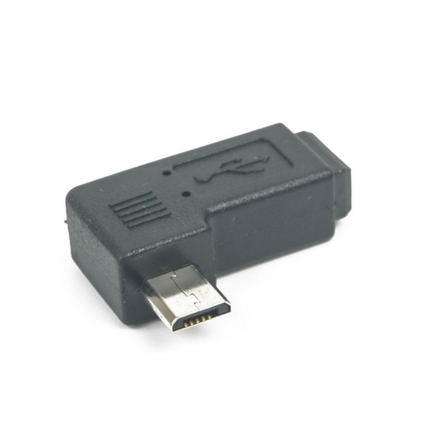 Mini USB Type B Female to Micro USB Male 90 Degree Right Angle Adapter-in Computer Cables & Connectors from Computer & Office on Aliexpress.com ...