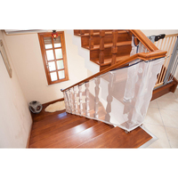 child kid protection stair fence baby stair safety net balcony baby safety fence stair net 80*300cm free shipping