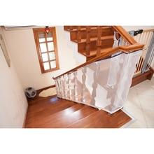 Детская защиты лестничные ограждения для лестницы безопасности чистая балкон детское защитное ограждение лестницы чистая 80*300 см Бесплатная доставка