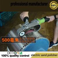 850 w круговой шлифовальная машина для круглых труб шлифовальные машины круглый установка полировки труб нержавеющая сталь полировальный ма