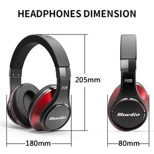 Image 5 - Bluedio U(UFO)High End Bluetooth headphone Patented 8 Drivers/3D Sound/Aluminum alloy/HiFi Over Ear wireless headphone