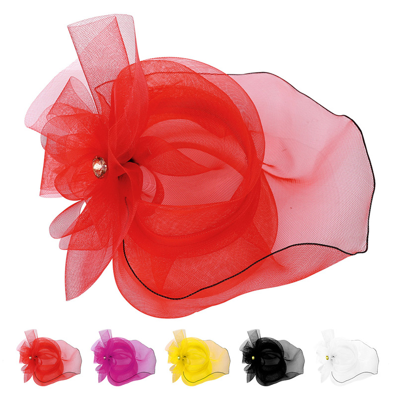 Women Hair Jewelry Bridal Hair Accessories Fascinator Western Style Hat Cocktail Wedding Hair Accessories Fashion Headwear F1804 free shipping retail hair comb sinamay fascinator hats feather hair accessories wedding headwear 17 color are avaliable rmsf101