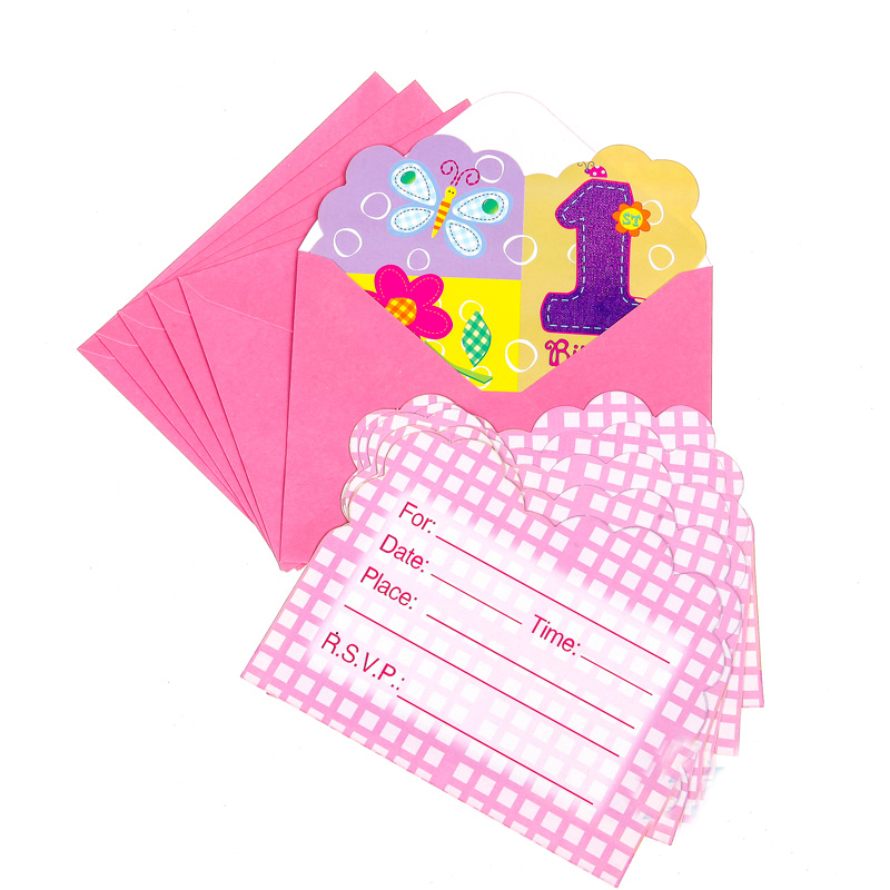 1st birthday invitations promotion shop for promotional for 1st birthday decoration packs