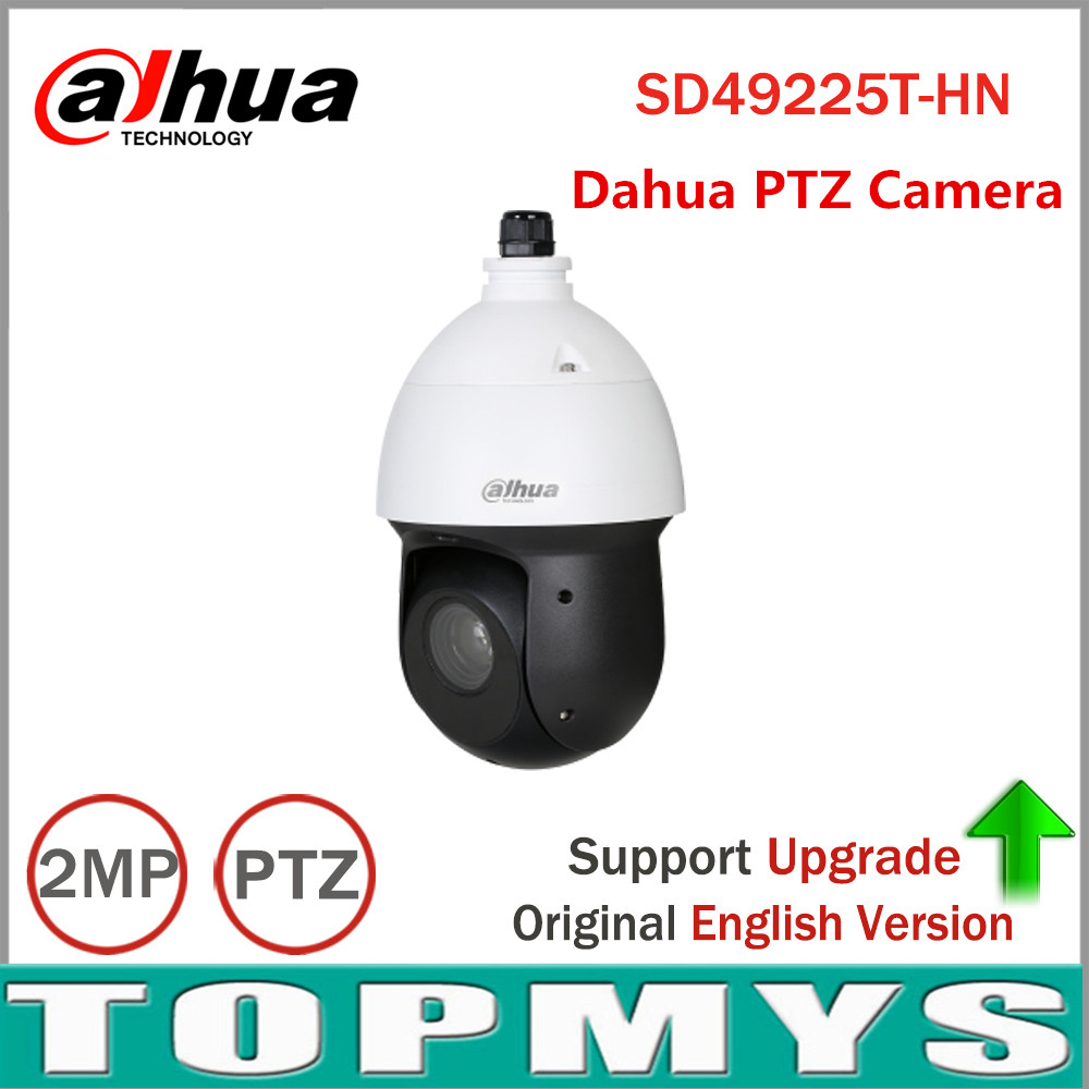 Dahua 2MP 25x Starlight IR PTZ Network Camera SD49225T-HN High Speed IP Dome Camera 16X Digital Zoom IP66 Waterproof Network Cam 4 in 1 ir high speed dome camera ahd tvi cvi cvbs 1080p output ir night vision 150m ptz dome camera with wiper