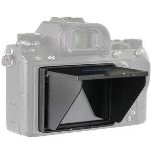 ЖК-экран qeento, всплывающее защитное покрытие от солнца, Солнцезащитная Крышка для беззеркальной камеры sony a7m3 a7III a7rIII a7r3 a9