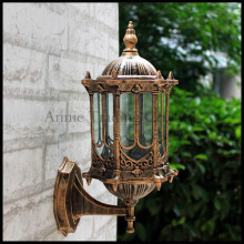 Europe Style retro outdoor wall lamp outside waterproof  Classical balcony aisle lights corridor garden yard buiten verlichting