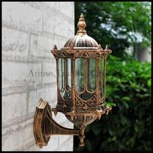 Europe Style retro outdoor wall lamp outside waterproof Classical balcony aisle lights corridor garden yard buiten