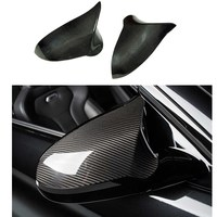 Carbon fiber mirror covers for BMW M3 M4 F82 F83 F80 car exterior accessories