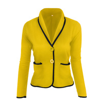 Blazer Women Jaqueta Feminina Flying Roc 2019 Women Sleeve Blazer Girls Casual Slim Feminino Office Lady Jacket Suit Clothing