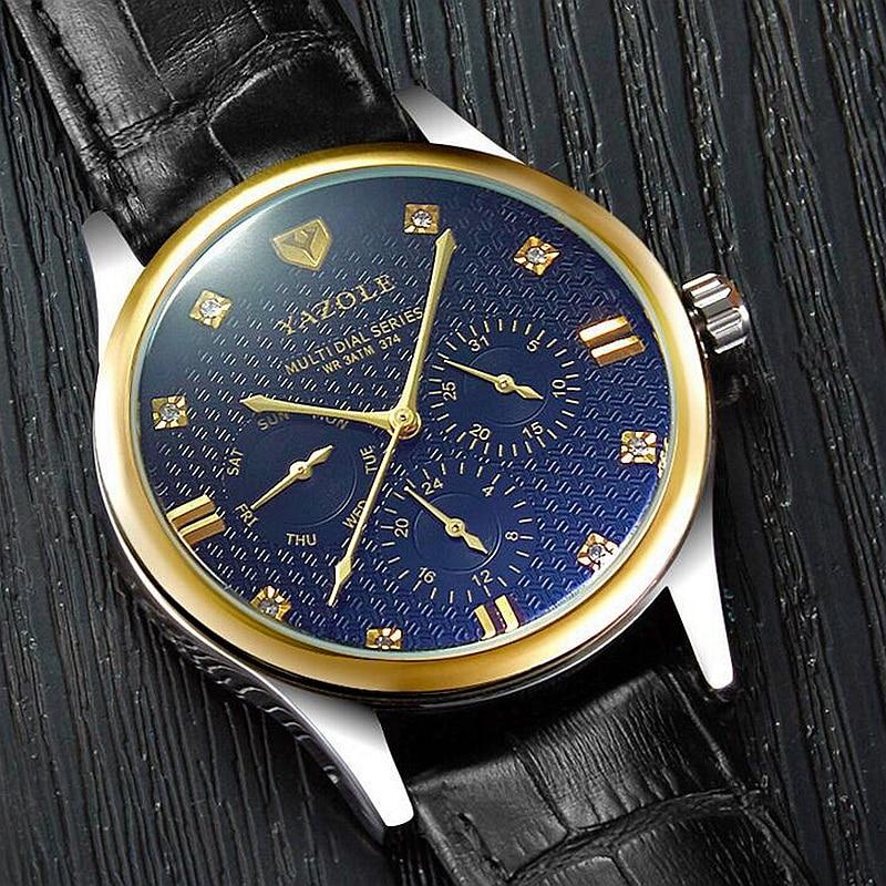 YAZOLE Wristwatch New Wrist Watch Men Watches Top Brand Luxury Famous Male Clock Quartz Watch For