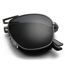 2016 fashion folding polarized sunglasses special design Portable UV400 polaroid shopping driving Outdoor designer sun glasses