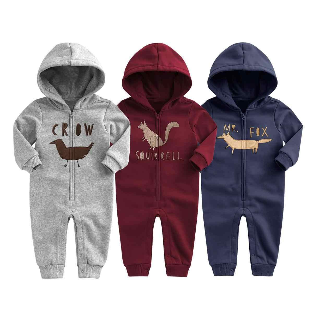 47636fced87b 2019 New Baby Autumn Winter Clothes Children Velvet Climbing Romoers  Newborm Baby Boy Girls Long Sleeve