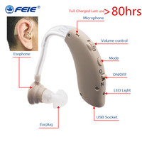 Mini Aide Auditive Rechargeable USB Hearing Amplifier S 25 Power Ear Deaf Hearing Aids for Elderly top selling Care Drop Ship