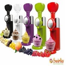 Большой Босс Swirlio замороженные фрукты машина мороженого дома полностью автоматическая мини слякоть машина бытовой мороженого