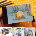 Creative Trends DIY Propose Gift Flip Flap Book Can Hide the Marriage Ring Carton Flippist FlipBook AG0001