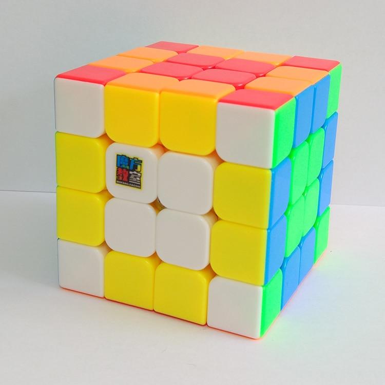 Moyu MoFangJiaoshi New Meilong 4x4x4 Replaced MF4S 62mm 4x4 Speed Magic Cube Puzzle Cubo Magico Professional Educational Toys