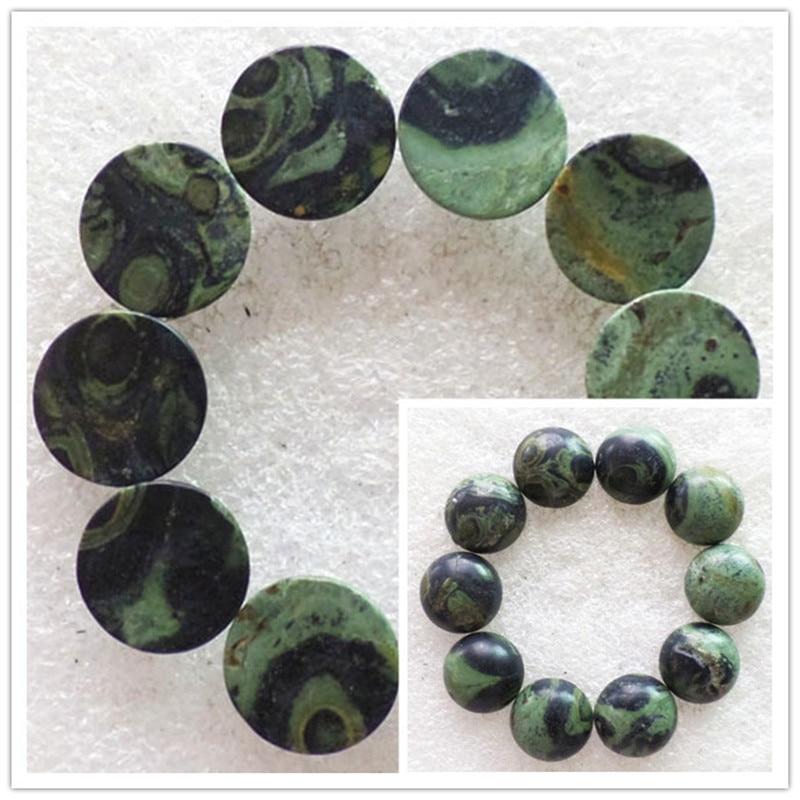 (10 pieces/lot) Wholesale Natural Kambaba Jaspers Round CAB Cabochon 14x6mm Free Shipping Fashion Jewelry RO2024